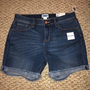Old Navy Mid-Length Jean Shorts